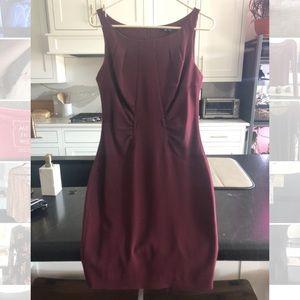 XOXO Burgundy Dress